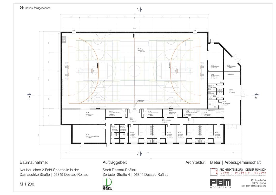 muennich_Sporthalle Damaschkestrasse_Grundriss-EG_1146x810px